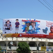 Bilboard on HAH for Ramdan Appeal 1