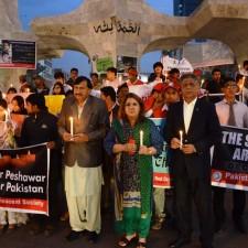 PRCS Sindh Candle light Vigils Peshawar Pic-15