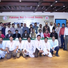 Pic-1 Group Photo Red Crescent